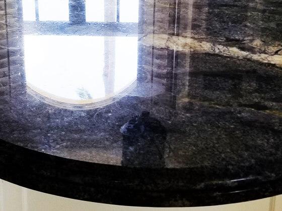 Blue Bahia Granite Restored