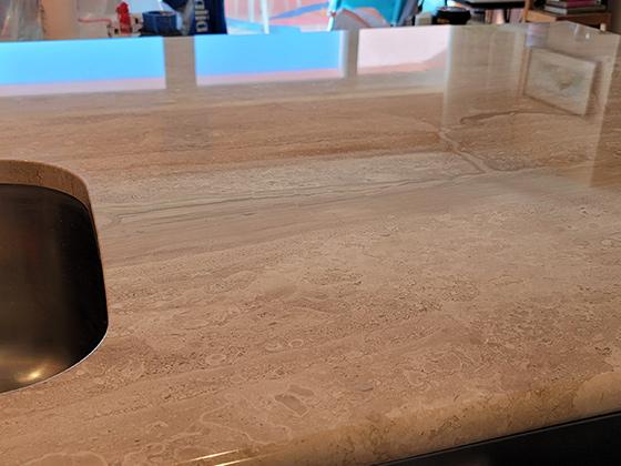 Marble Kitchen Countertop Polishing