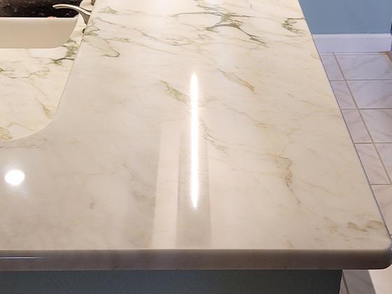 Perico Bay Marble Kitchen Countertop Restoration