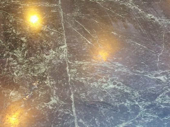 Green Marble Dull Finish